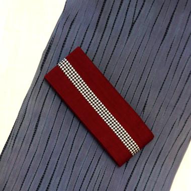 藤井絞り伝統の「竜巻絞り」の綿麻浴衣