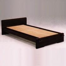 桐でつくった組子ベッド